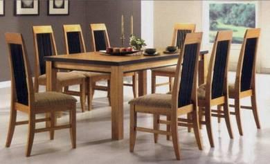 GL Series Solid Wood Dining Set Model: QOA-GL573