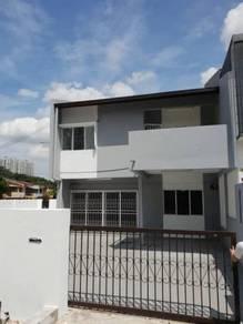 2 storey corner house , taman len seng , below market