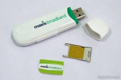 Maxis broadband comel