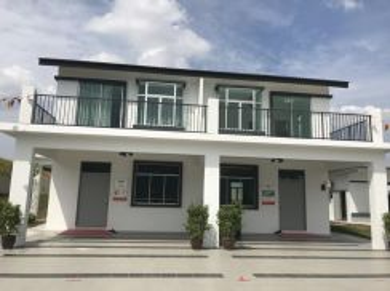 Double Storey Terrace at Meru IPOH