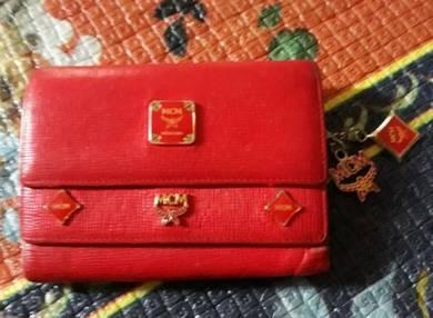 MCM wallet leather original