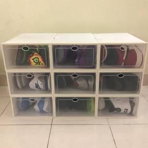 Stackable shoe box / kotak kasut 04