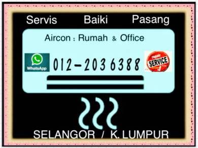 Aircond servicing PRO Air con KL/SEL Air cond