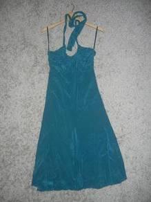 Jaker 12 TED BAKER halter mini dress