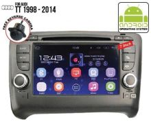 Audi TT Android player 1998 to 2014 Free Camera