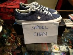 Converse One Star Hairy Suede Size 9