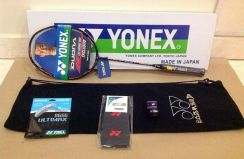 7in1 Package Yonex Duora 10 Blue Orange SP 30lbs
