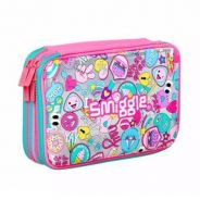 Smiggle Says Double Hardtop Pencil Case