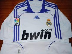 Vintage REAL MADRID HOME FOOTBALL JERSEY 2007-2008