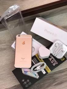 Iphone 6s 128 gb original LL set rosegold