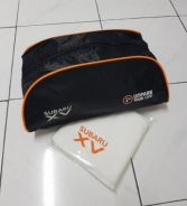 Original Subaru XV Shoe / Toiletries Bag & Towel