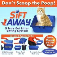 Don't Scoop The Poo Cats Sift Away Cat Self Siftin