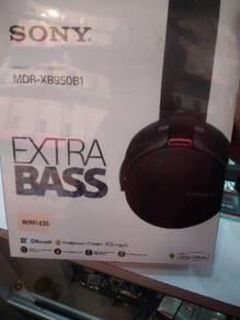 New sony mdr xb950b1