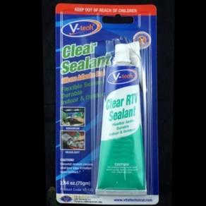 Clear RTV Sealant Silicone Adhesive