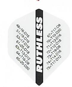 Darts flight ruthless checkout 10 sets