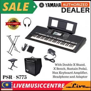 Yamaha PSR-S775 Arranger Keyboard D (PSRS775)