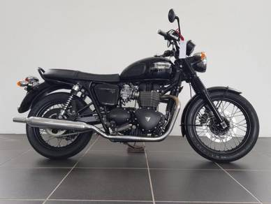 Triumph Bonneville T100 unregistered ( T120 )