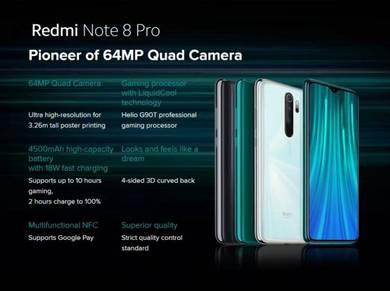 Redmi Note 8 Pro (64MP AI Quad Camera)