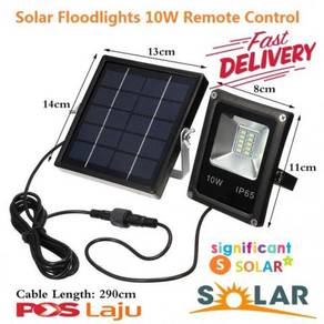 10W LED Solar Sensor Lamp Floodlight Light Waterpr