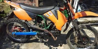 Motocross cubcross 110cc kriss