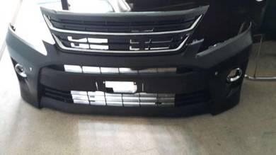 Toyota vellfire 20 facelift front bumper bodykit 2
