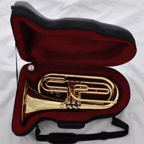 Professional Gold Brass Marching Baritone