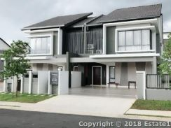 New house 22x70 double storey lekas highway seremban town hill top