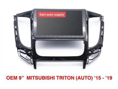 Mitsubishi triton OEM android player (auto aircon)