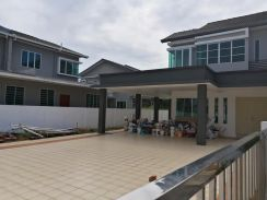 Double storey corner at Uni Central, Kota Samarahan