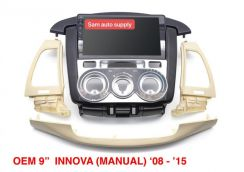 Toyota innova OEM android player (manual aircond)