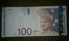 RM100 Bank Note