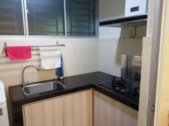 OUG Parklane Cozy Renovated Fully Furnished New Single Bed