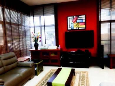 [Semi D House] Fully furnished Garden Residence Semi D House Cyberjaya
