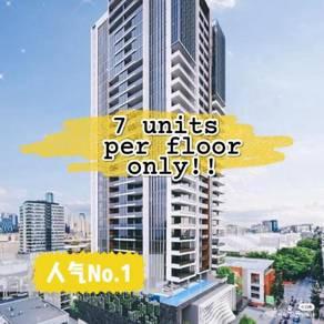 Setapak Freehold Monthly installment RM800 Condo 7unit Per Floor