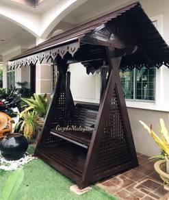 Buaian bumbung kayu