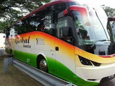 Perkhidmatan Sewa Bas Di Utara Malaysia