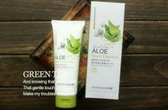 Ansina aloe snail essence whitening blackhead