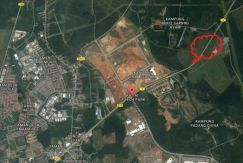 Kulim Hi Tech Freehold 12.1 acre land, 20 psf