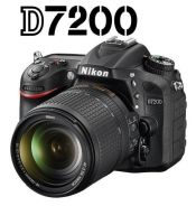 NEW Nikon D7200 DSLR with 18-140mm VR Lens