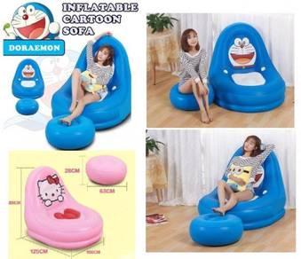 Inflatable cartoon sofa 499