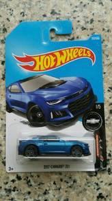 HotWheels 2017 Camaro ZL1 Blue