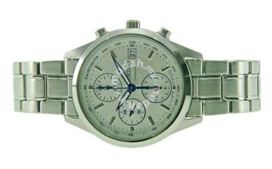 Seiko Ladies Chronograph Steel Watch SNDV51P1