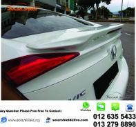 Honda Civic FC Modulo Spoiler With Paint