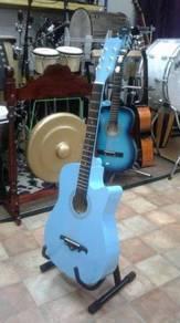 Gitar Akustik Res (Biru)