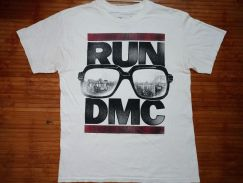 Authentic RUN DMC SzL Crew Neck T-shirts