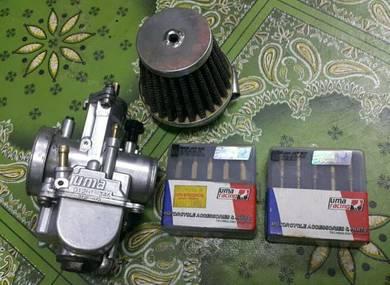 Kaburator uma 28mm mainjet pijotjet set