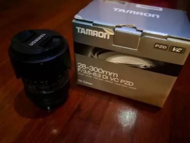 Tamron 28-300mm f3.5 - 6.3 vc pzd