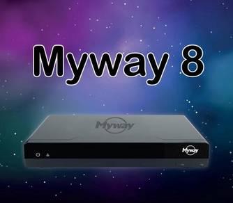 Myway 8 + Touch Screen karaoke system