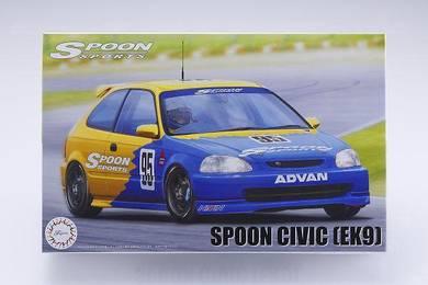 Spoon Sports EK9 Diecast