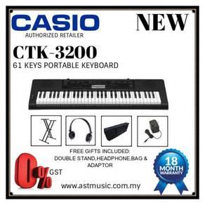 Casio CTK-3200 ctk3200 61 Keys Keyboard PROMO C
